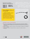 Высокочастотные глубинные  вибраторы с рукояткой оператора IRSEN 30 IRSEN 38  IRSEN 45 IRSEN 57K  IRSEN 57