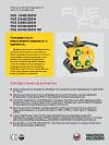 Электронный преобразователь  частоты и напряжения  FUE 1/042/200W  FUE 2/042/200W  FUE 2/250/200W  FUE 6/042/200W  FUE 6/042/200W SC